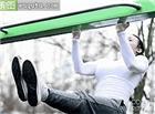 丰满美女锻炼身体动态图片