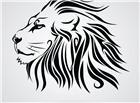 狮子头简笔画图片大全