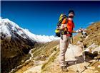 登山爱好者高山图片