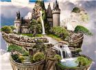 悬浮在空中的城堡图片