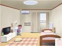 动漫房间卧室场景图