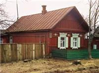 俄罗斯农村房子图片