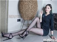 [beautyleg]美女腿模abby黑丝美腿高跟鞋写真