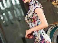 旗袍美女两侧有开叉竟是这个原因 赞叹东方之美