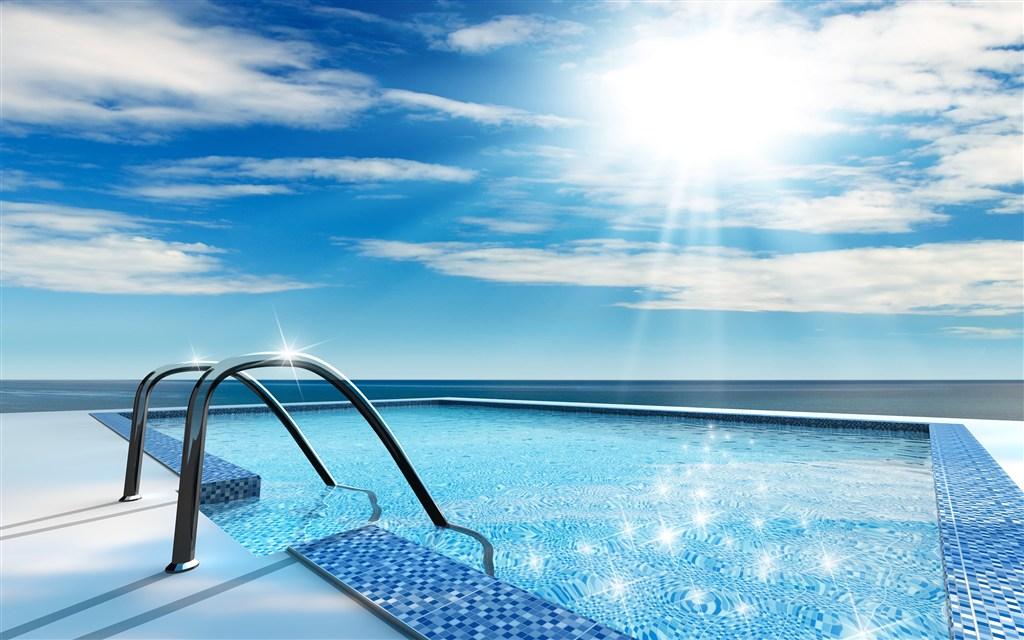 高清游泳池素材图片(点击浏览下一张趣图)