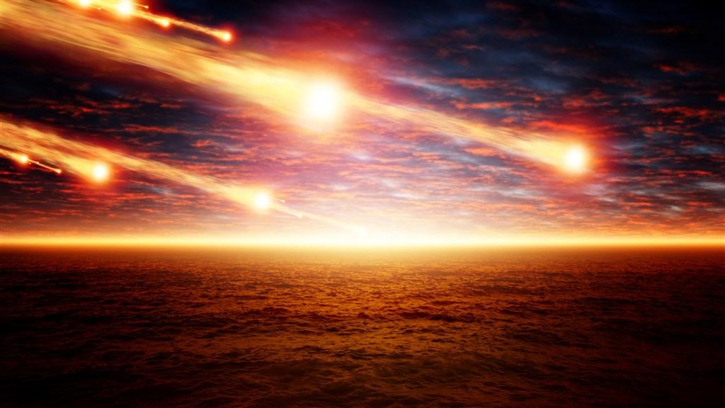 彗星撞击星球图片(点击浏览下一张趣图)