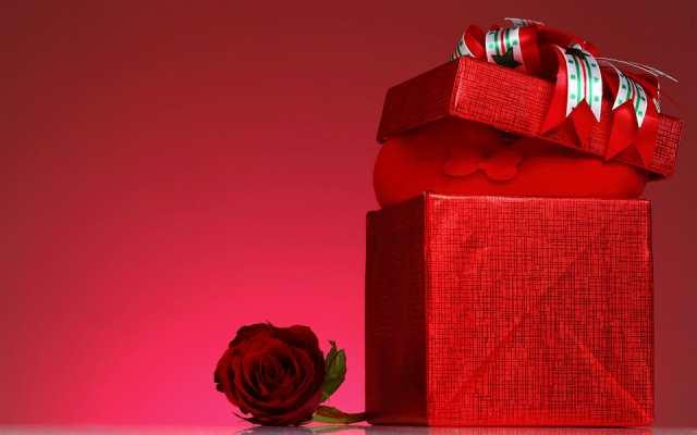 礼品盒玫瑰艺术图片(点击浏览下一张趣图)